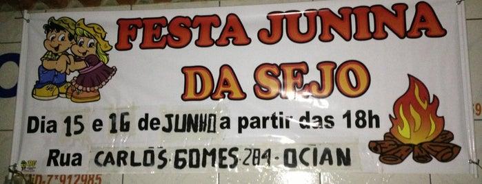 Festa Junina da Sejo is one of Orte, die Andre gefallen.