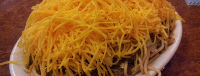 Skyline Chili is one of Cinci Work Food.