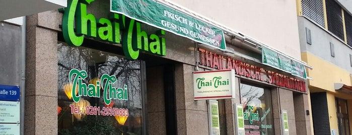 Thai Thai is one of Koblenz Food.