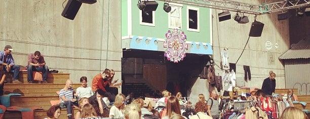 Trädgården is one of Stockholm.