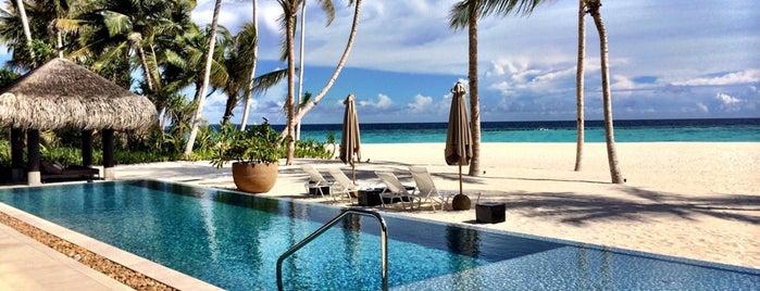 Velaa Private Island Maldives is one of glsh4574 님이 저장한 장소.