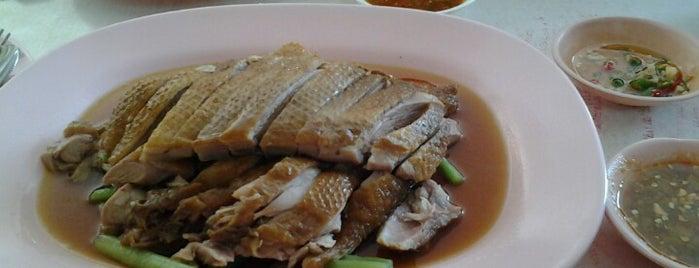 สมชัยเป็ดพะโล้ (โกเท้) นพวงศ์ is one of Lugares favoritos de Chaimongkol.