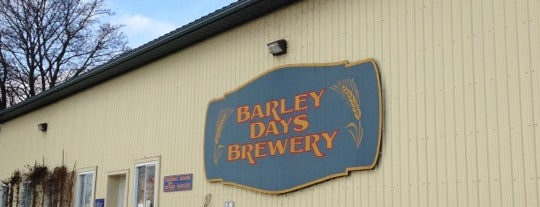 Barley Days Brewery is one of Locais curtidos por Skeeter.