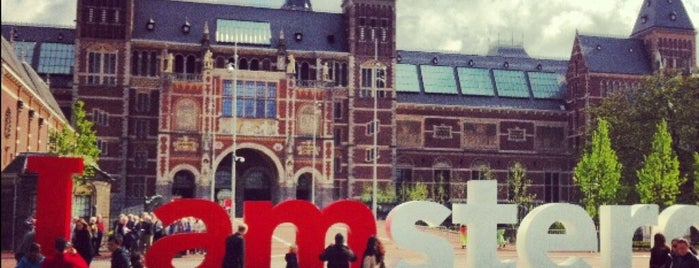 I amsterdam is one of Lugares favoritos de Kevin.