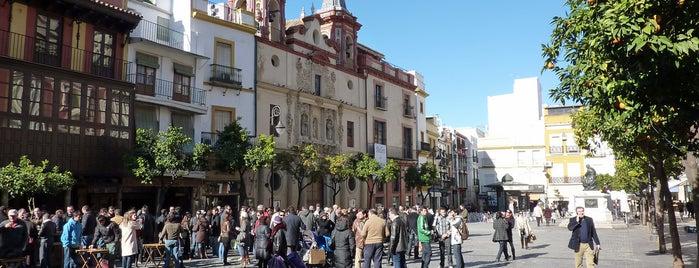 Plaza del Salvador is one of Hipster Seville.