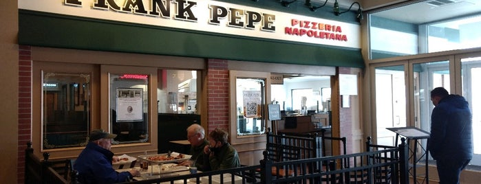 Frank Pepe's Pizzeria is one of US Travel Eats.