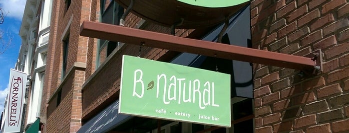 B-Natural! (formerly Woodland Coffee & Tea) is one of barbie'nin Kaydettiği Mekanlar.