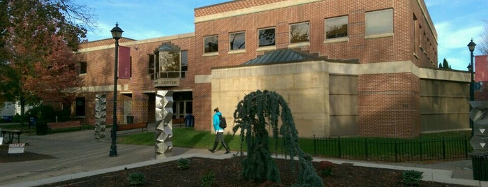 WCSU Student Center is one of D-block the 0-34.