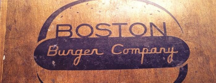 Boston Burger Company is one of Ryan Patrick Deacon Kane Boston Batchie WAC '13.