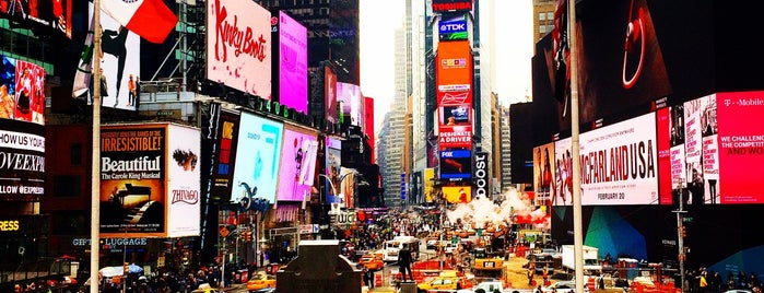 Times Square is one of NYC.