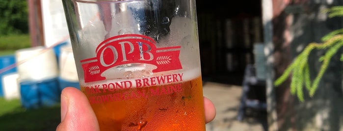Oak Pond Brewing Co. is one of New England Breweries.