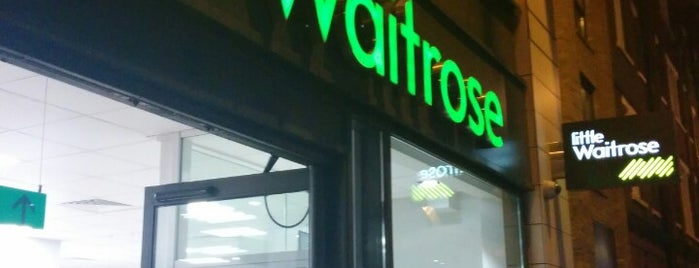 Little Waitrose & Partners is one of Orte, die Ian gefallen.
