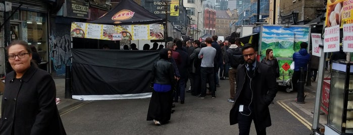 Petticoat Lane Street Food is one of London 2016.