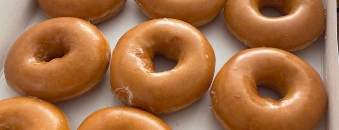 Krispy Kreme Doughnut is one of Lieux qui ont plu à David.