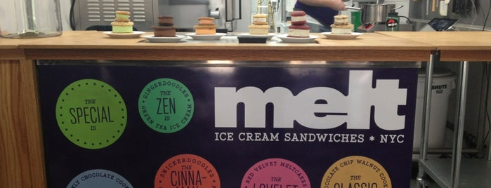 Melt Bakery is one of Eating Manhattan II.