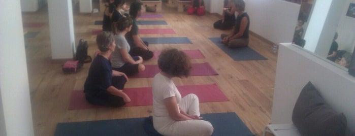 Just B! Pilates & Yoga Studio is one of Tempat yang Disimpan Maria Beatrice.