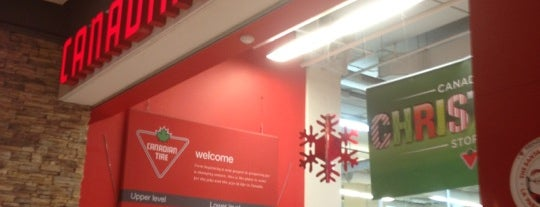 Canadian Tire is one of Albhaさんのお気に入りスポット.