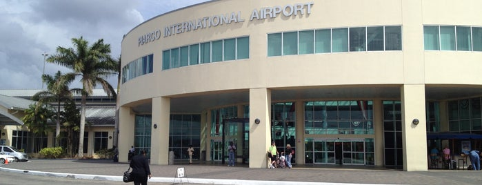 Piarco International Airport (POS) is one of Jay : понравившиеся места.