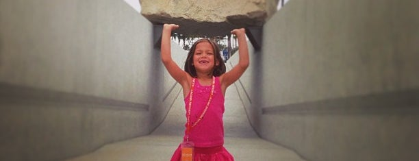 Levitated Mass is one of Lugares que quero conhecer.