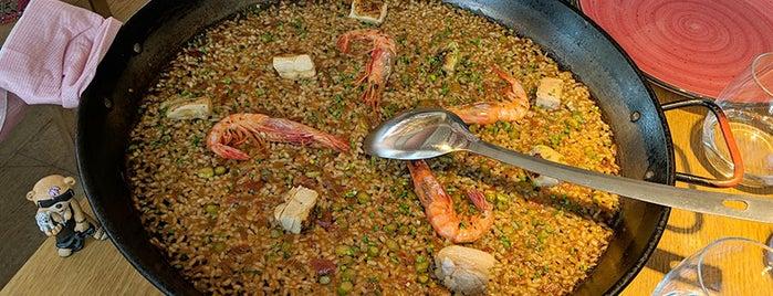 Maná 75 - paella restaurant Barcelona is one of Los placeres de Pepa 2.