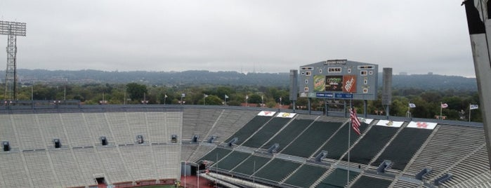 Legion Field is one of FBS Stadiums.