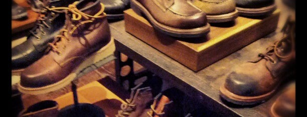 The Frye Company is one of NYC Men's Shops.