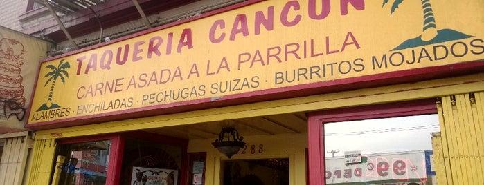 Taqueria Cancún is one of SF / LA April 2014.
