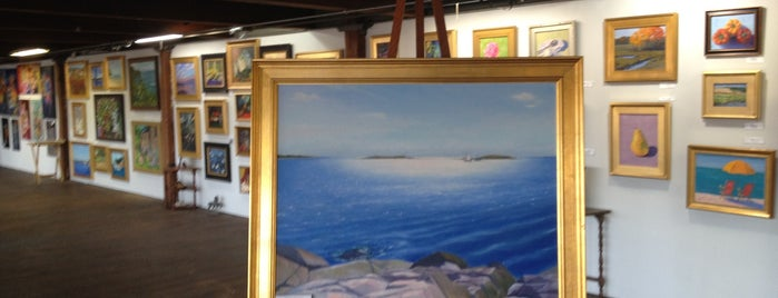 Norwood Fine Art Gallery is one of My Favorites.