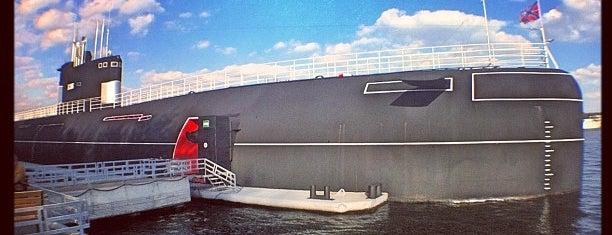 Музейно-мемориальный комплекс истории ВМФ России is one of Халявные музеи Москвы.
