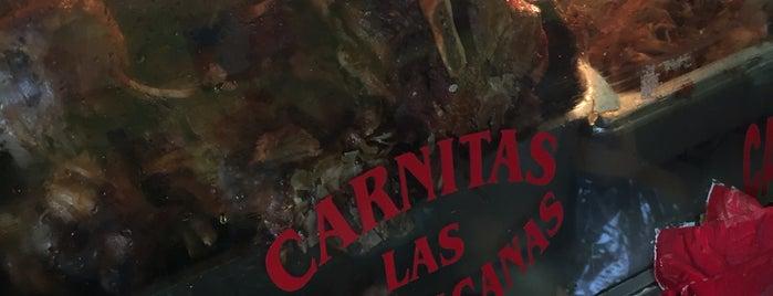 Carnitas Las Michoacanas is one of Locais curtidos por Charles.