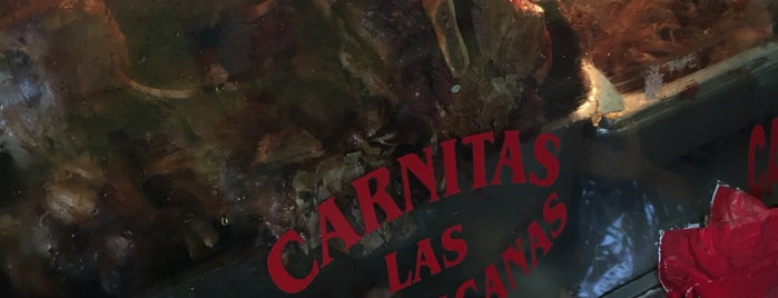 Carnitas Las Michoacanas is one of Lieux qui ont plu à Charles.