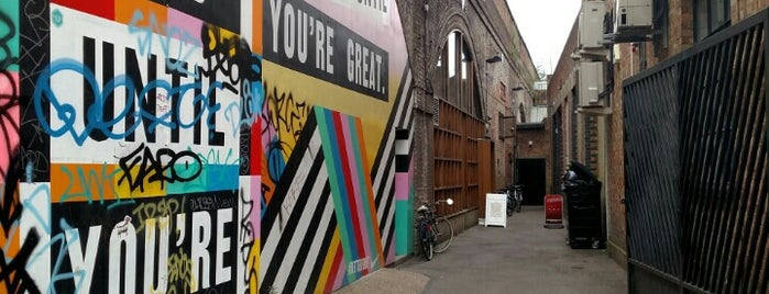 New Inn Yard is one of LDN to do.