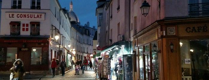 Rue Norvins is one of Paris Neighberhood.