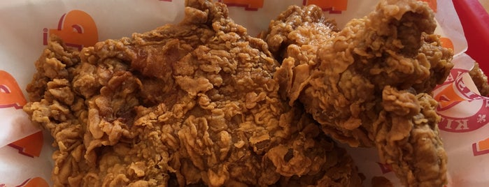 Popeyes Louisiana Kitchen is one of Posti che sono piaciuti a Brett.