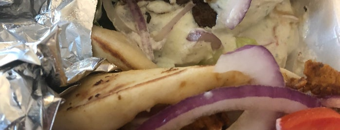 Gyro's Greek Food is one of Brettさんのお気に入りスポット.