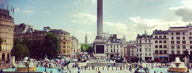 Trafalgar Square is one of England (insert something witty here).