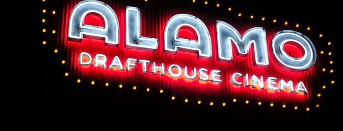 Alamo Drafthouse Cinema is one of Tempat yang Disukai Rachel.