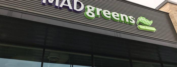 MAD greens is one of Orte, die Kunal gefallen.