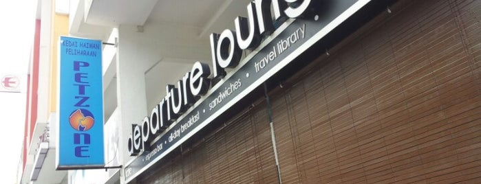 Departure Lounge is one of Coffee, Tea or B.