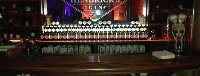 Hendrick's Voyages Into The Unusual is one of Bars.