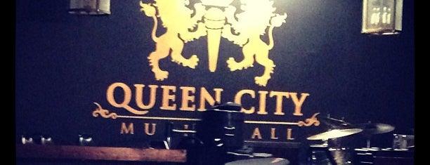 Queen City Music Hall is one of สถานที่ที่ Robert ถูกใจ.