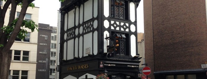 Coach & Horses is one of London food.