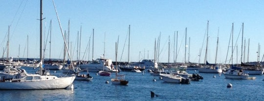Vineyard Haven Harbor is one of Lugares favoritos de KATIE.
