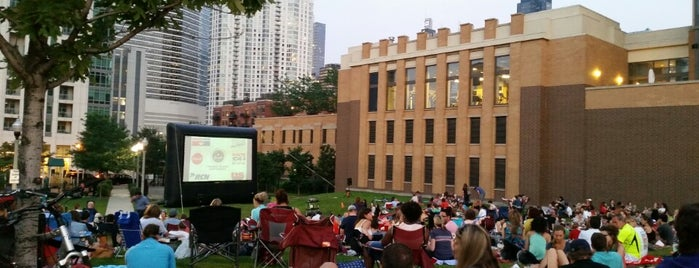 Fulton River District- Movies In The Park is one of Favorites!. :).