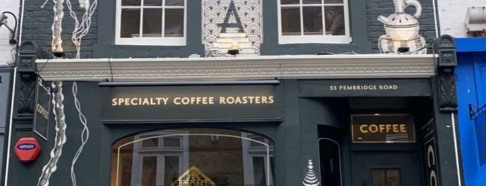 Amoret Speciality Coffee is one of London.