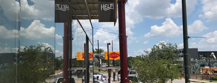 Helm Boots is one of Austin - coffee + sights.