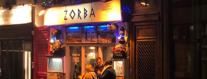 Zorba is one of Restos.