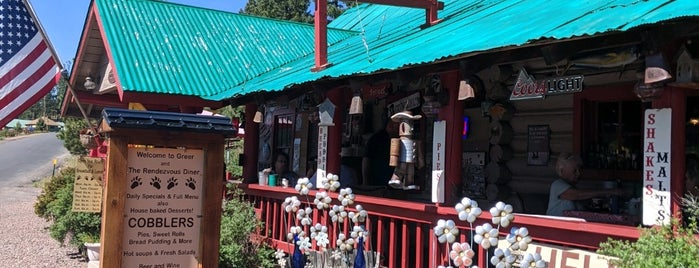 Rendezvous Diner is one of Pinetop- Greer.