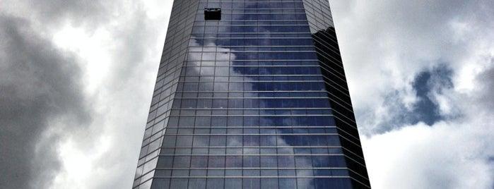 Torre de Cristal is one of Ruta Colorea Madrid por el Skyline de Madrid.