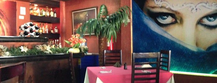 "Restaurante Arabe ""Al-Emir"" is one of Tempat yang Disukai Liliana."